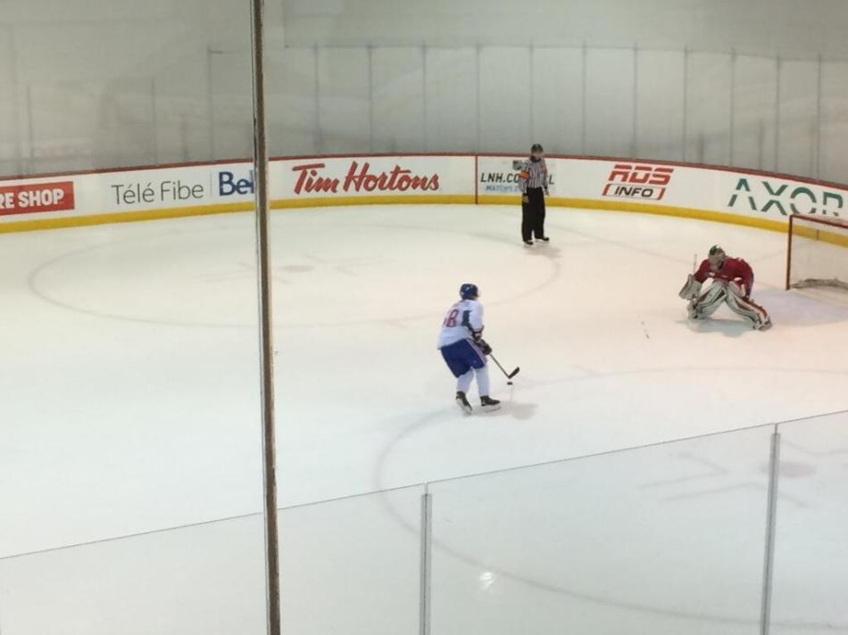 @Andrighetto25 quick move, quicker feet by @Fucale31 #nogoal #shootout #habs @CanadiensMTL.